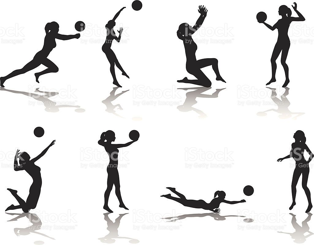1024x800 File Types Included Are Ai, Eps, And Jpg. Volleyball, Volleyball