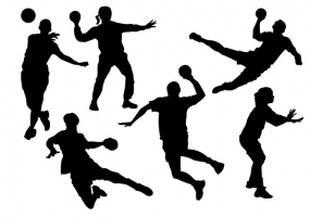 285x200 Volleyball Player Silhouette Free Vector Graphic Art Free Download