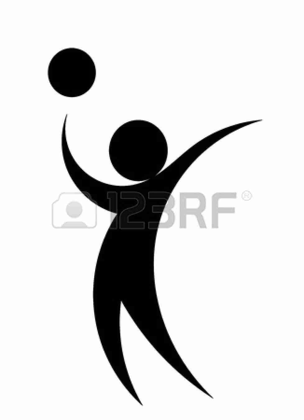 978x1350 Best Free Volleyball Spike Silhouette File Vector Images