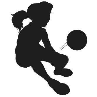 330x330 Volleyball Spike Silhouette Clipart