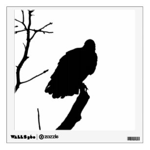 307x307 Black Bird Silhouette Wall Decals Amp Wall Stickers Zazzle