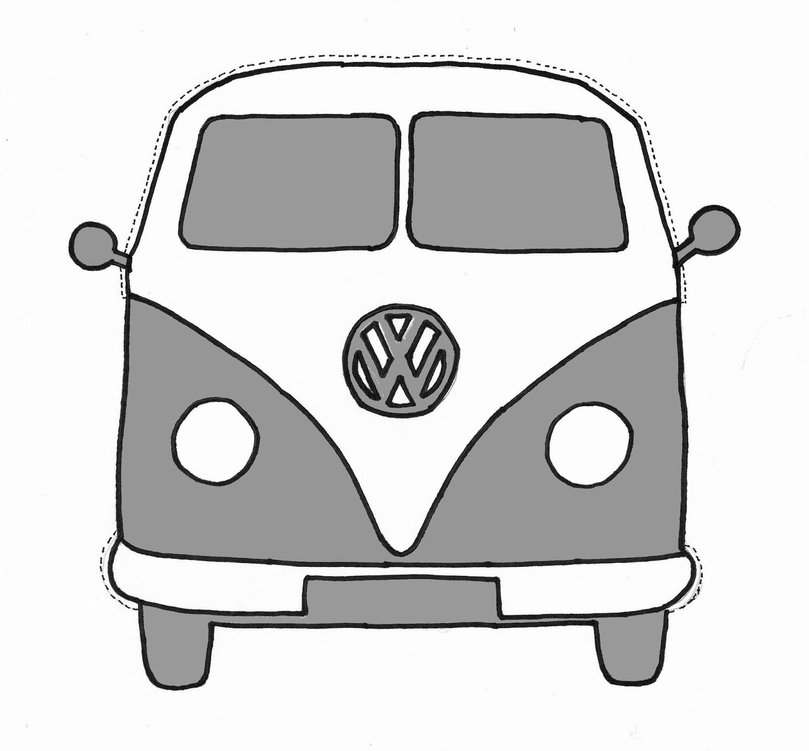 1600x1484 Vw Bus Silhouette Vw Bus Silhoue. 1111 Branding