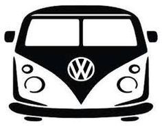 236x184 Vw Volkswagen Van Vinyl Decal Car Decal Wall Decal Window