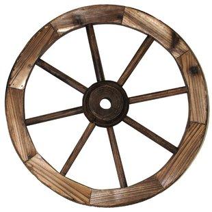310x310 Outdoor Wagon Wheels Wayfair