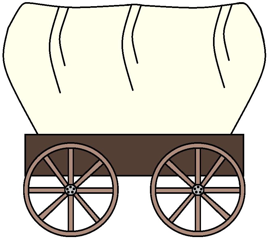 883x783 Wagon Wheel Clipart