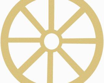 340x270 Wooden Wagon Wheel Etsy