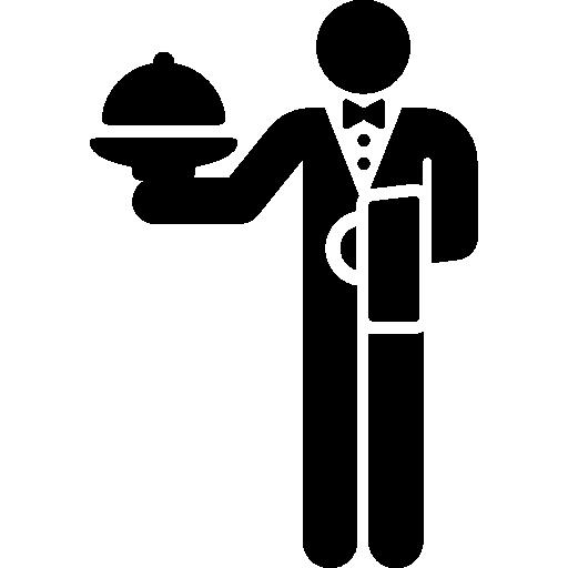 512x512 Waiter Icon