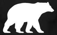 190x118 Bear Walking By Stehplatz Spreadshirt