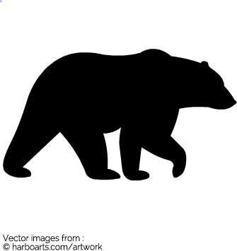335x355 Image Result For Bear Silhouette Kids Art Bear