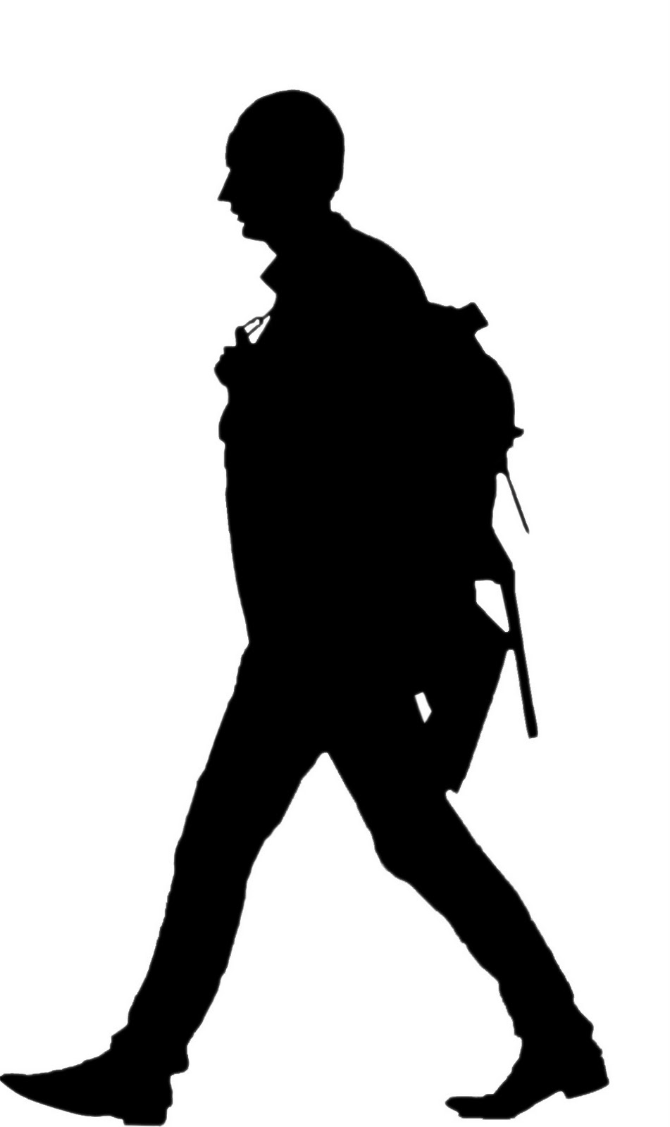 951x1600 People Clipart Silhouette Walking Collection