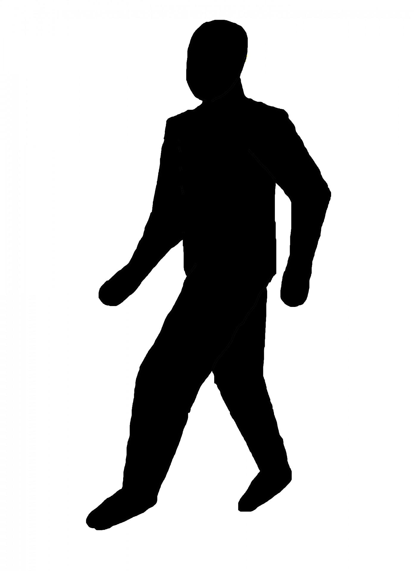 1395x1920 Walking Man Free Stock Photo