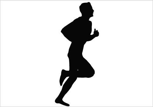 501x352 Walking Man Silhouette Silhouette Graphics Silhouette Clip Art