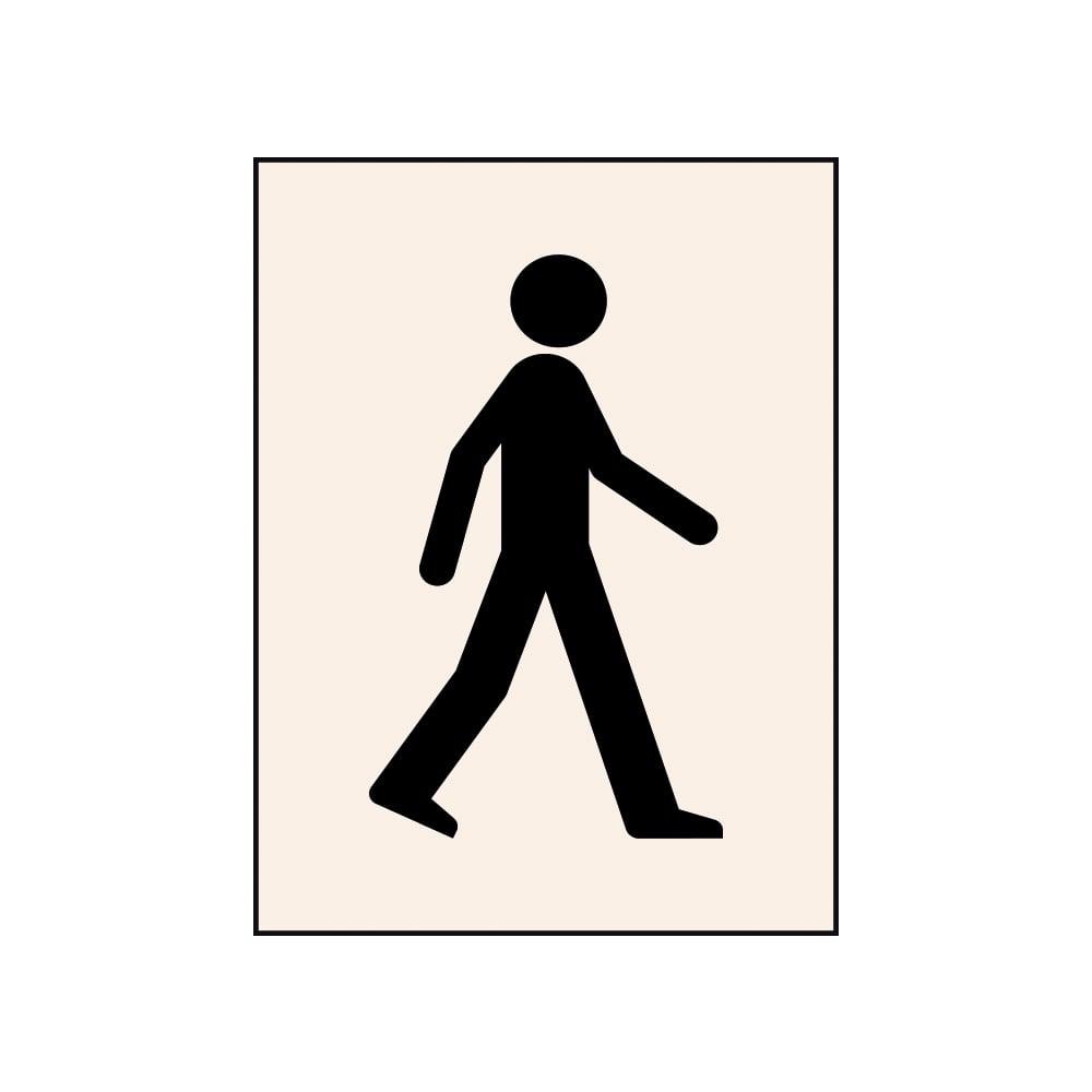 1000x1000 Walking Man Stencils From Parrs