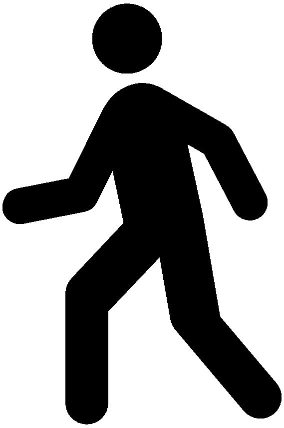 569x856 Clipart Vector Of Walking Man Silhouette Vector Cbb4crb Image Clip Art