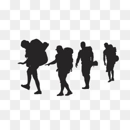 260x260 Ms. Silhouette Vector Walk, Black, Men'S, Walk Png And Vector