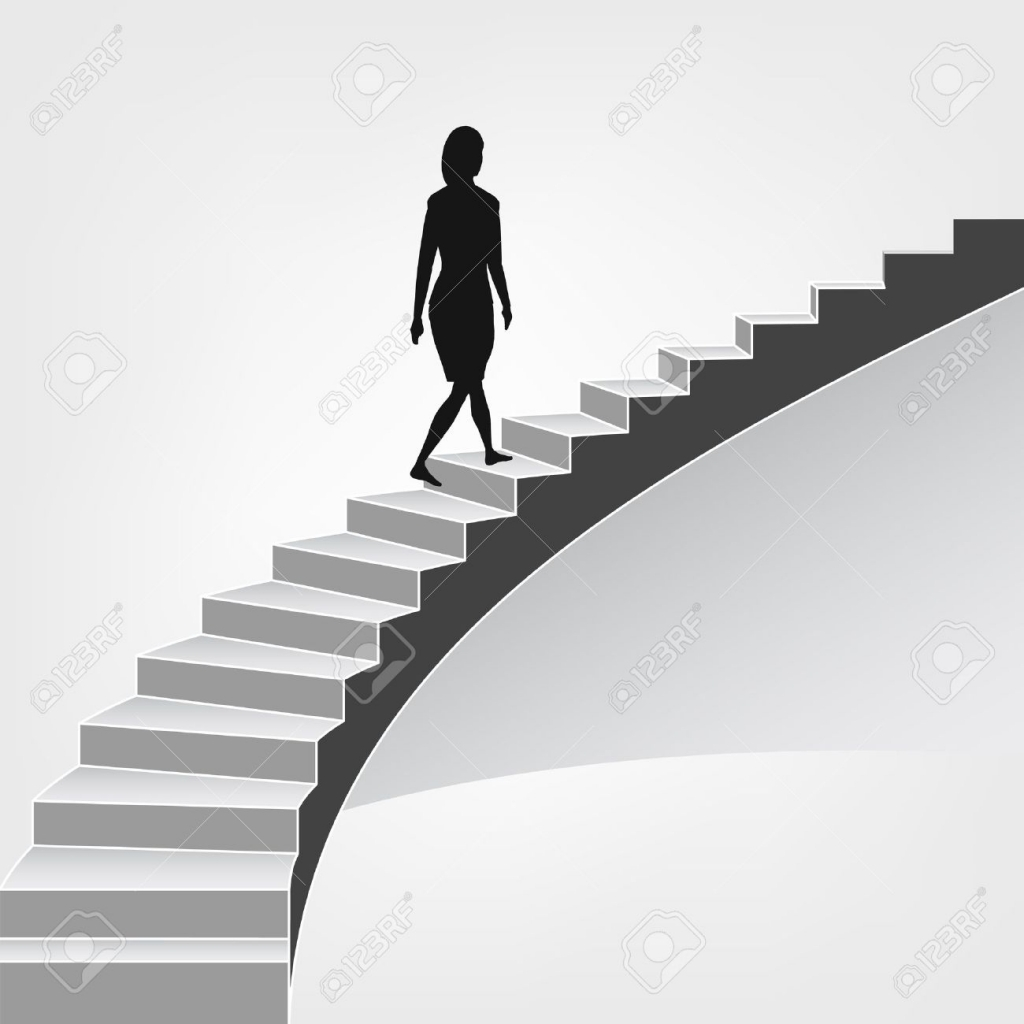Walking Up Stairs Silhouette at GetDrawings | Free download