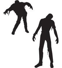 Walking Zombie Silhouette