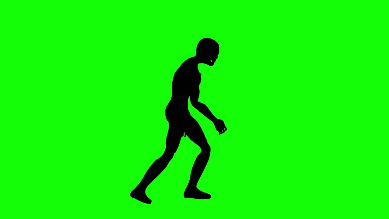 1280x720 Free Hd Video Backgrounds Mummy Zombie Silhouette Walking