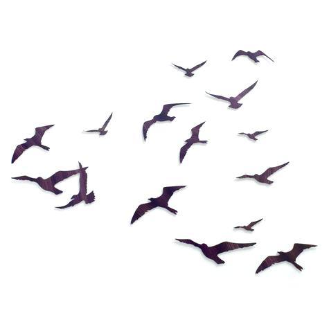 475x475 Wall Arts Flock Of Birds Wall Art Flock Vinyl Decals Silhouette