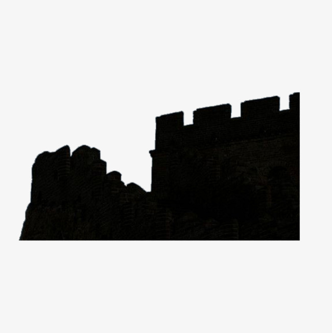 650x651 Great Wall Silhouette Free Material, Free Pictures, Free Material