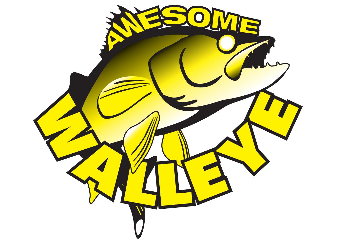 1406x992 Walleye Cartoon Images