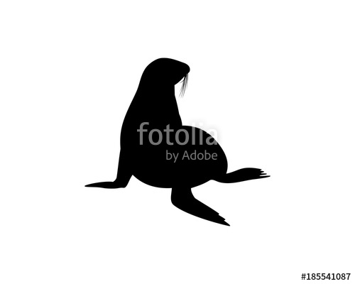 Walrus Silhouette