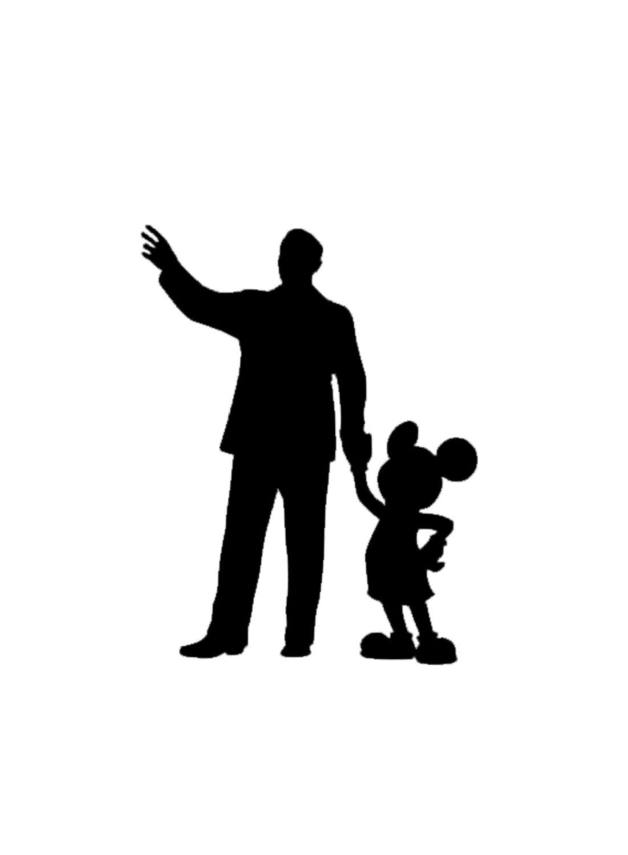 1101x1500 Mickey And Walt Disney Disney Magic Band Decal Disney Decal