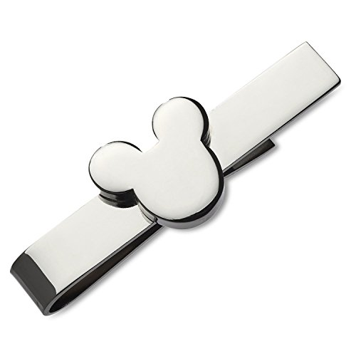 500x500 Walt Disney Mickey Mouse Silver Tone Tie Bar And Mickey Mouse
