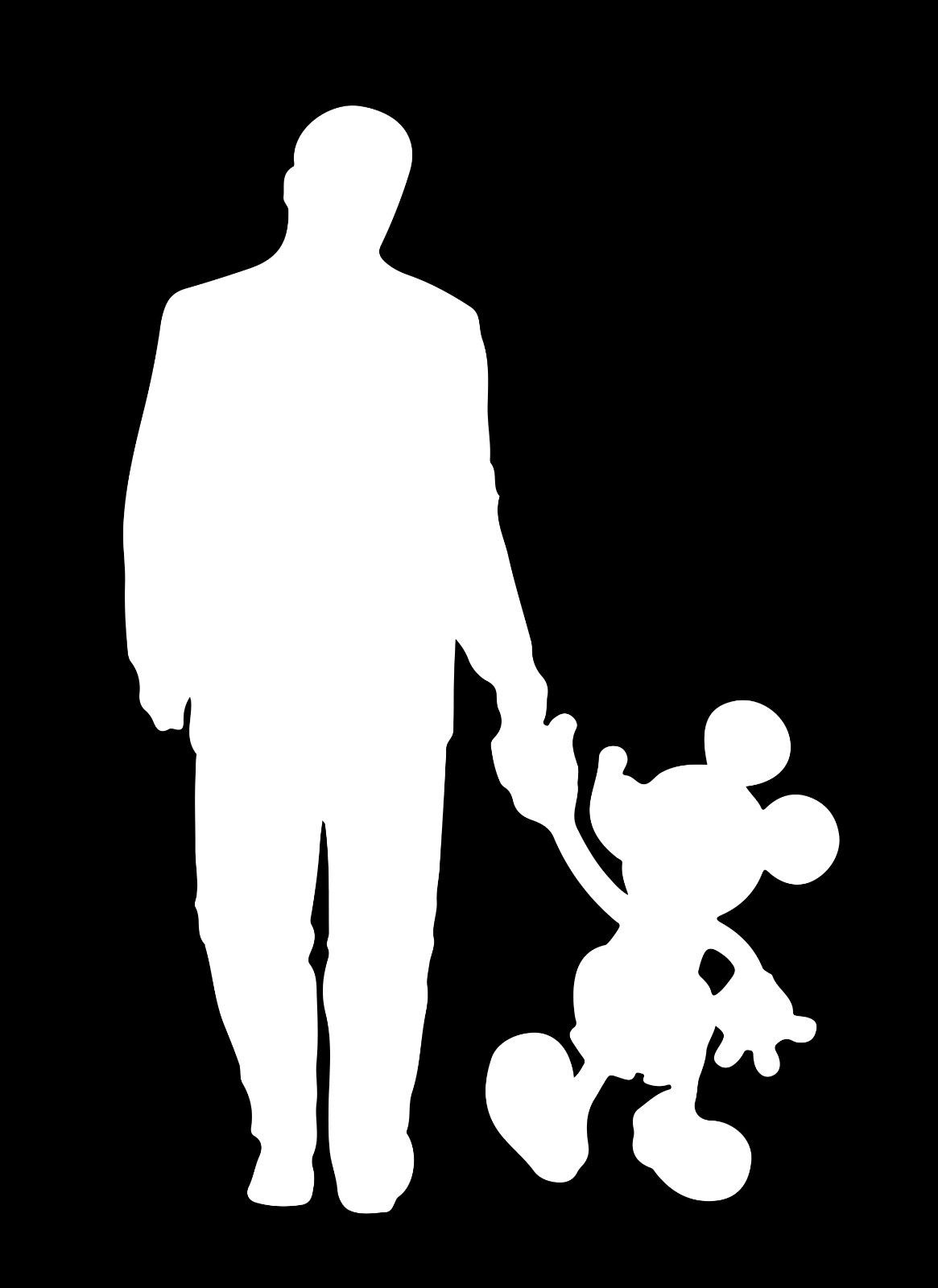 1165x1600 Walt Disney And Mickey Mouse Walking Disney World Decal Car Case