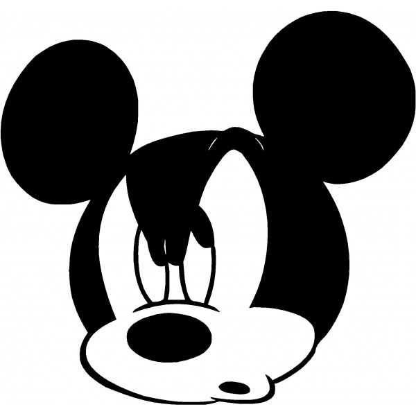 600x600 Angry Mickey Mouse Tattoos!!! Mickey Mouse, Mice