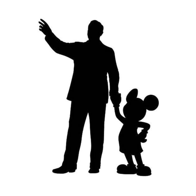 Walt Disney Silhouette