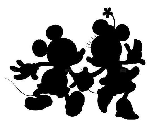 554x451 Disney Silhouettes Disney Silhouette Walt Disney World