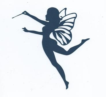 367x336 Fairy With Wand 2 Silhouette By Hilemanhouse On Etsy Cool Stuff