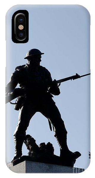 320x600 Statue Silhouette World War Memorial Victoria Bc Photograph By