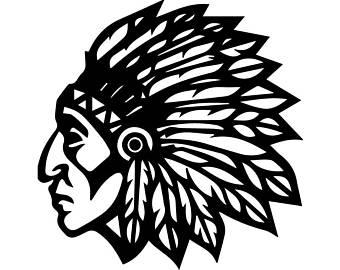 340x270 Apache Indian Svg Etsy