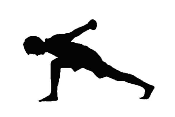 Warrior Pose Silhouette at GetDrawings.com | Free for ...