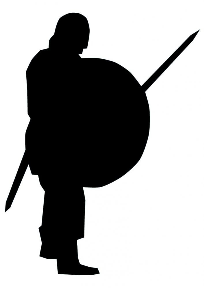 707x1000 Historical Warrior Silhouette