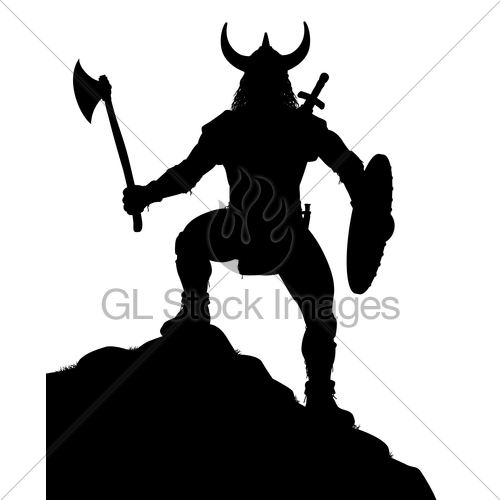 500x500 Viking Warrior Gl Stock Images