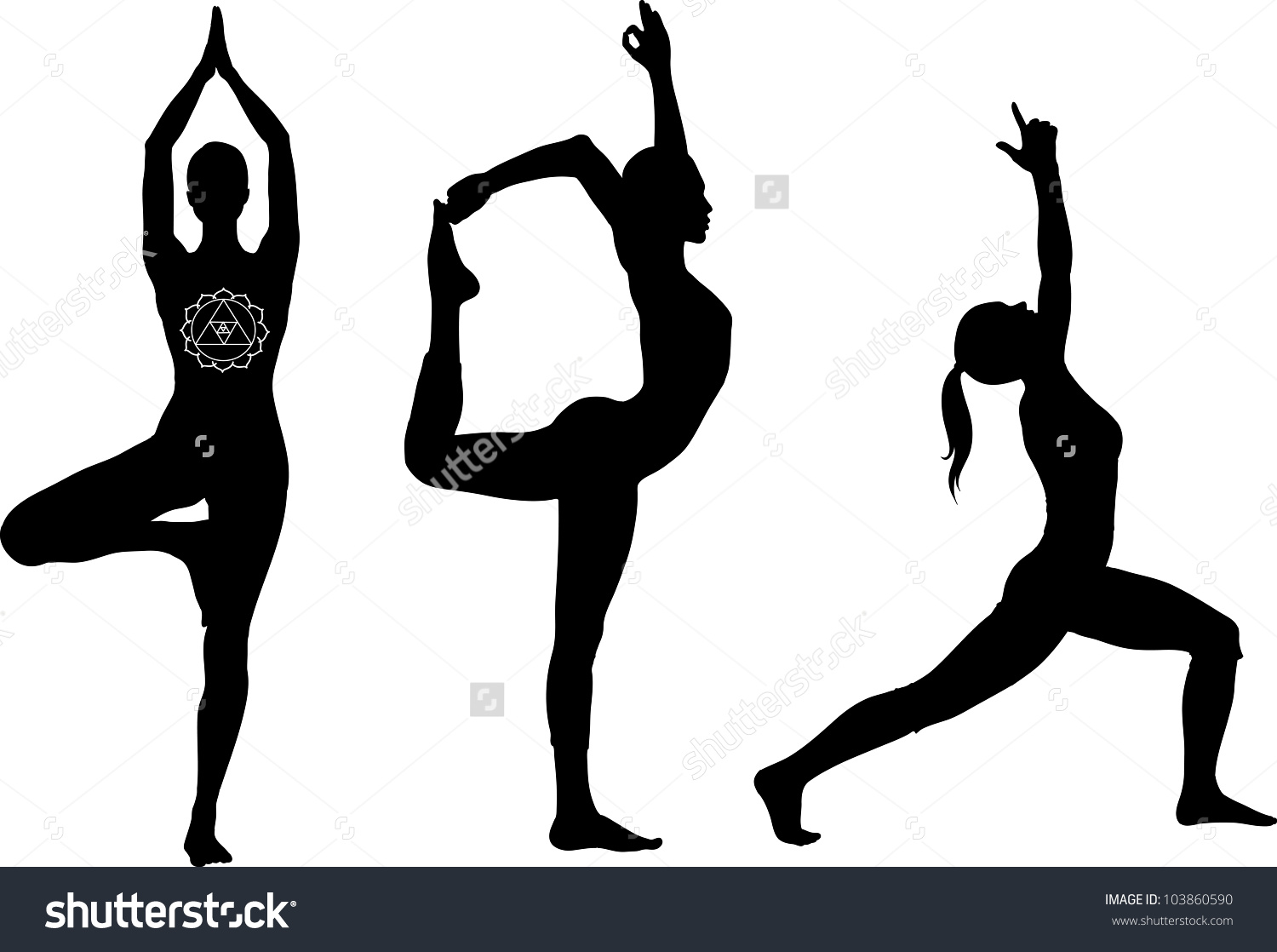 1500x1118 Warrior Pose Clipart