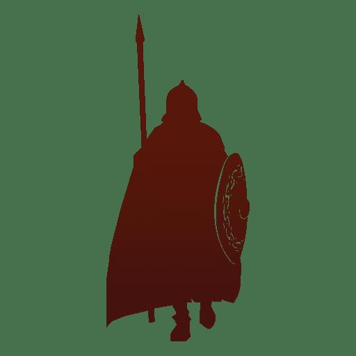 512x512 Warrior Silhouette Viking