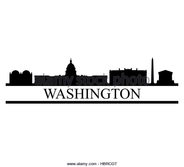 594x540 Capitol Washington Building Panorama Cut Out Stock Images