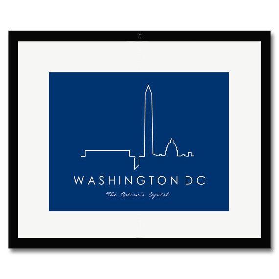 570x570 Washington Dc Skyline Silhouette
