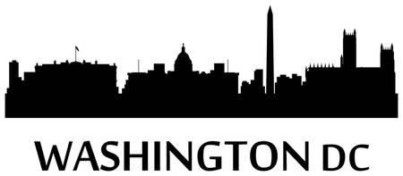 450x197 Stunning Washington Dc Skyline Digital Artwork For Sale On Fine
