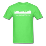 190x190 Washington Dc Downtown Skyline Silhouette By Kwg2200 Spreadshirt