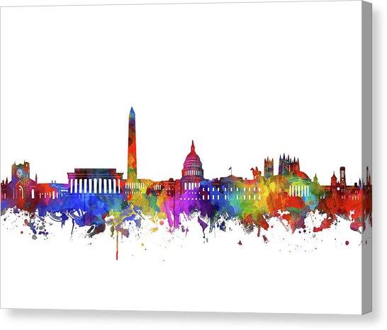 546x466 Washington Dc Skyline Canvas Prints