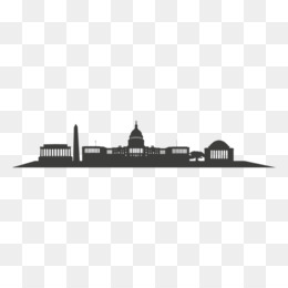 260x260 Free Download Washington, D.c. Skyline Silhouette Black And White