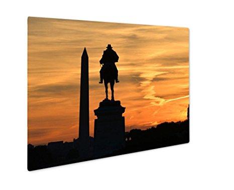 466x380 Ashley Giclee Metal Panel Print, Washington Dc Ulysses