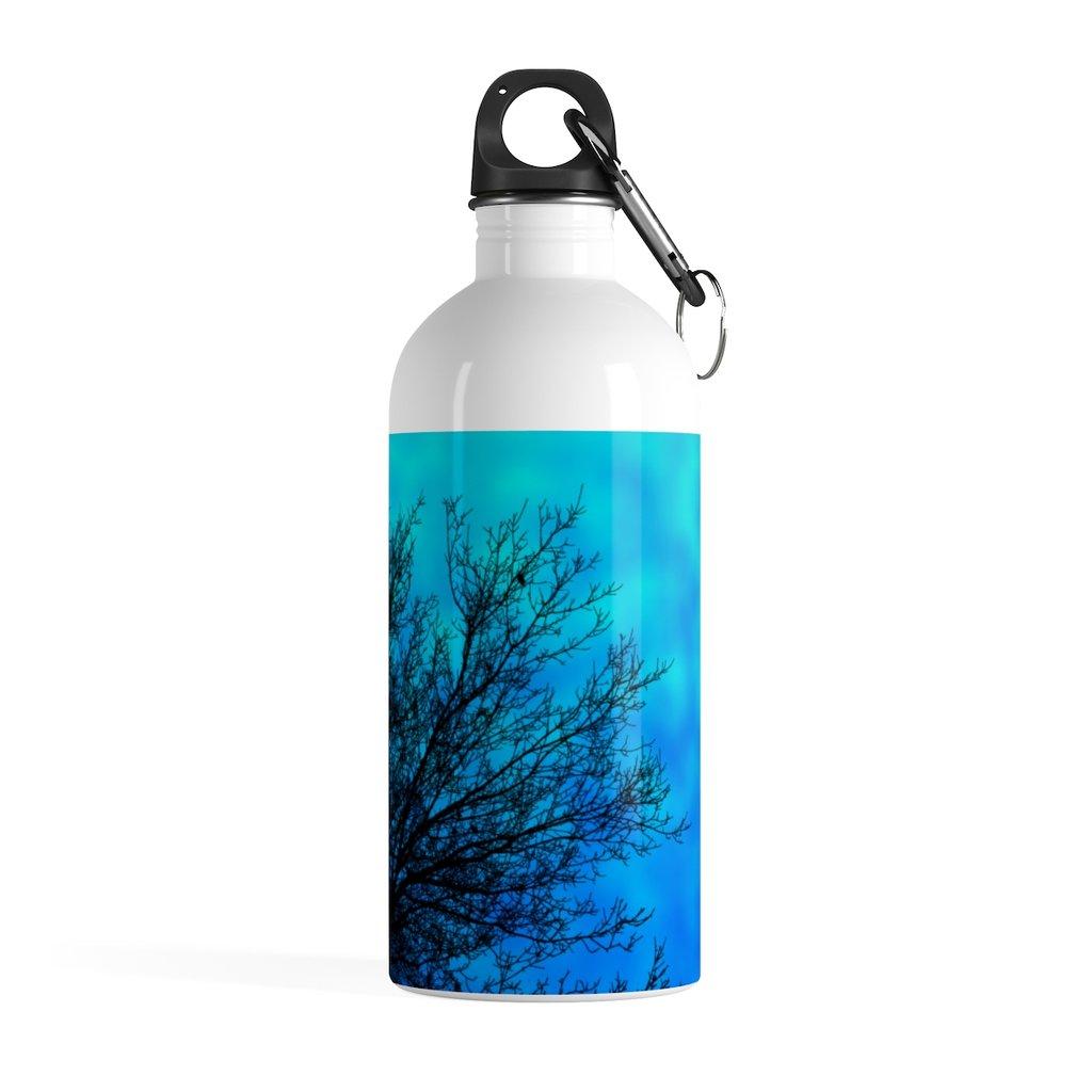 1024x1024 Tree Silhouette Water Bottle