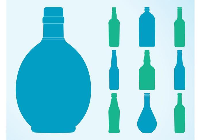 700x490 Bottle Silhouettes