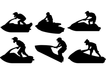352x247 Jet Ski Silhouette Vector Free Vector Download 338795 Cannypic